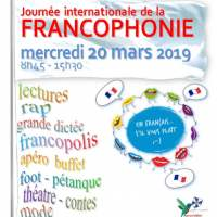 Journée internationale de la francophonie à l'Institut St Dominique - Mercredi 20 mars 09:00-15:30