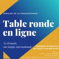"Institut Saint Dominique : ""Le français une langue internationale - Vendredi 19 mars 10:30-12:00"
