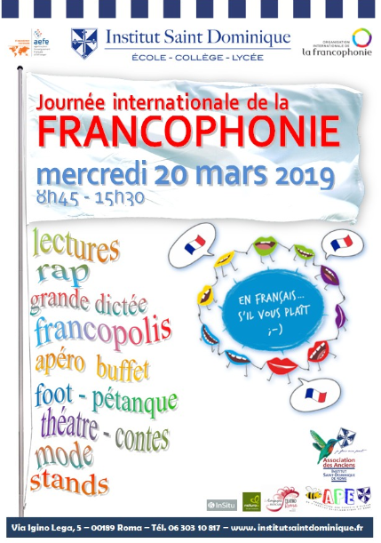 Journée internationale de la francophonie à l'Institut St (...)